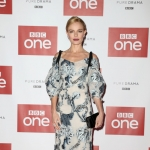Kate Bosworth in Erdem Bree Embroidered Tie-shoulder Dress at BBC Drama SS-GB Screening in London, England (Jan 30 2017)