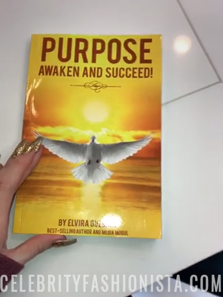 Khloe Kardashian, Elvira Guzman Purpose: Awaken and Succeed book (Snapchat, Jan 31 2017)