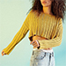 Nasty Gal Silence + Noise Kylie Ribbed Crop Sweater