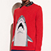 Coach Shark crewneck sweater