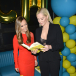 Nicole Lapin and RHOBH Erika Jayne at Boss Bitch LA Launch Party - March 25, 2017.