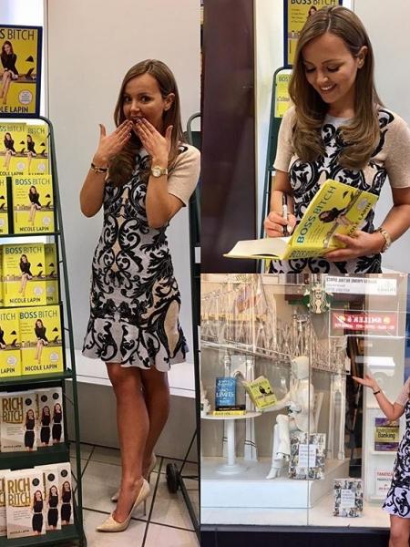 Nicole Lapin Barnes Noble 5th Avenue Nyc Celebrityfashionista Com
