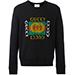 Gucci motif print sweatshirt