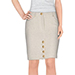 Moschino Couture Tweed Knee Length Skirt