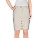 Moschino Couture Tweed Knee Length Skirt