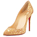 Christian Louboutin Pigalle Follies Cork Pump