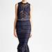 Jonathan Simkhai Lace Midi Dress in Blue