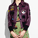 Coach 1941 Plum retro leather jacket