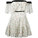 Giambattista Valli Pleated Tiered Mini Dress