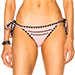 Same Swim Tease Side Tie Bikini Bottoms in Rose
