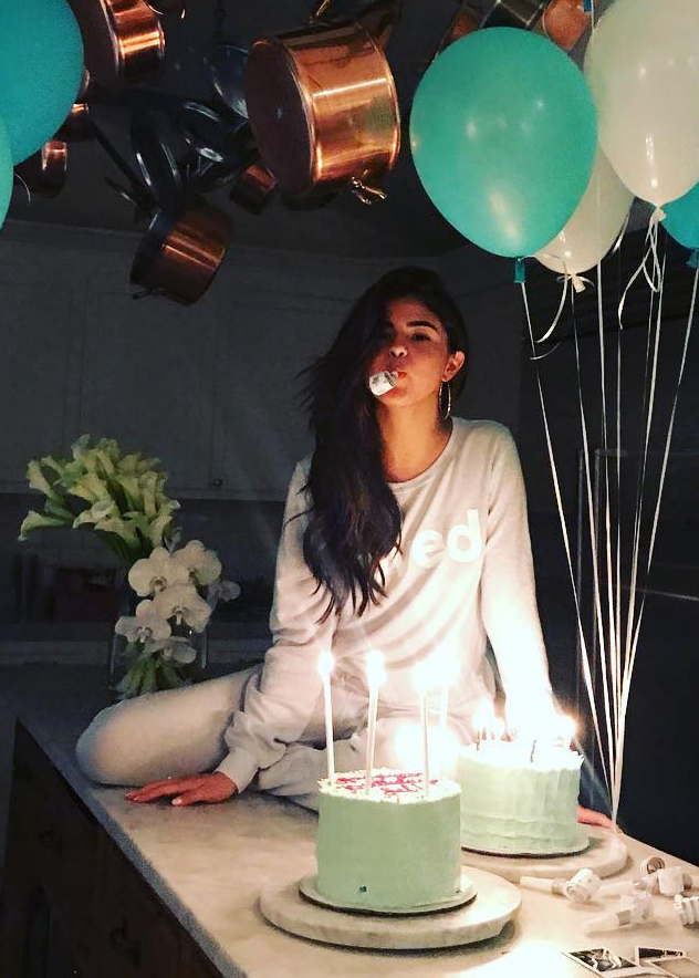 Selena Gomez Birthday Instagram Pic – CelebrityFashionista.com